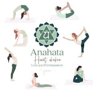 Anahata Yoga postures