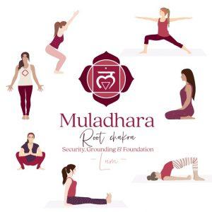 Muladhara Yoga postures