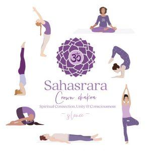 Sahasrara yoga postures