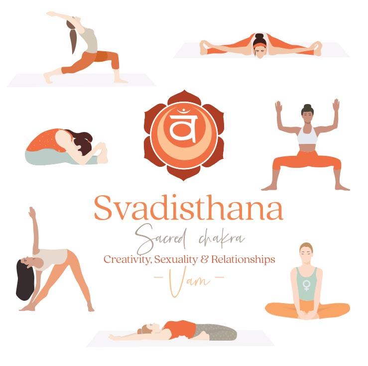 Svadisthana yoga postures